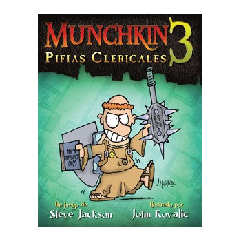 MUNCHKIN3: PIFIAS CLERICALES