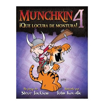 MUNCHKIN4: ¡QUE LOCURA DE...