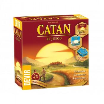CATAN EDICIÓN 25 ANIVERSARIO