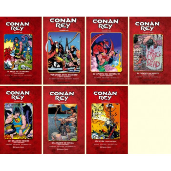 PACK CONAN REY (TOMOS 1-7)...