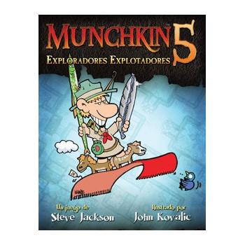 MUNCHKIN5: EXPLORADORES...