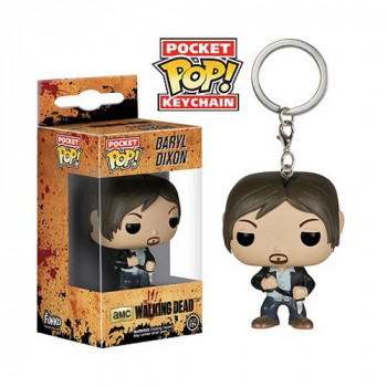 FUNKO POCKET POP! LLAVERO DARYL DIXON. THE WALKING DEAD