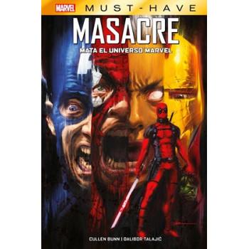 MARVEL MUST-HAVE. MASACRE...