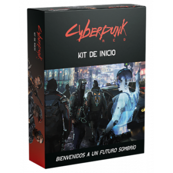 KIT DE INICIO - CYBERPUNK RED