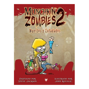 MUNCHKIN ZOMBIES 2: MUERTOS Y ENFADADOS JCNC