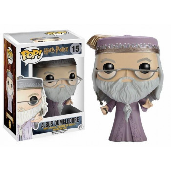 FUNKO POP! 15 ALBUS DUMBLEDORE WITH WAND. HARRY POTTER