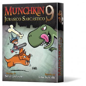MUNCHKIN9: JURASICO SARCASTICO