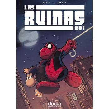 LAS RUINAS 01 + TRADING CARD