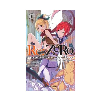 RE:ZERO 08 (NOVELA)