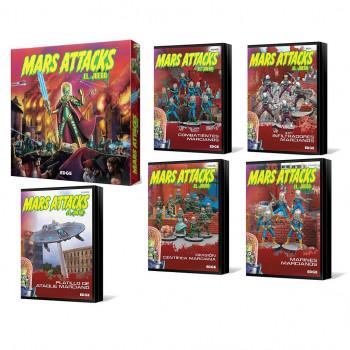 PACK MARS ATTACKS: EL JUEGO...