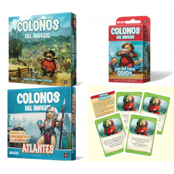 PACK COLONOS DEL IMPERIO:...