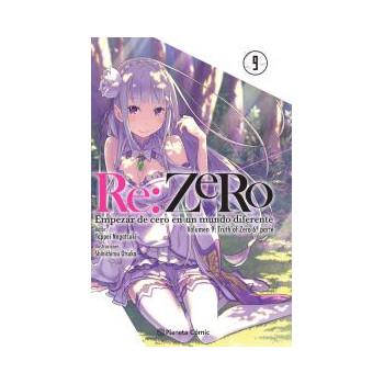 RE:ZERO 09 (NOVELA)