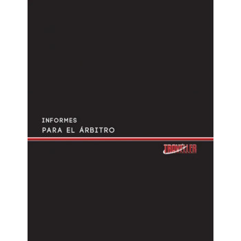 INFORMES PARA EL ARBITRO -...