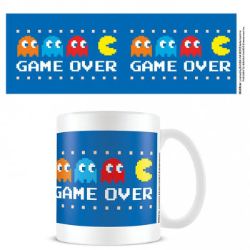 TAZA GAME OVER. PAC-MAN