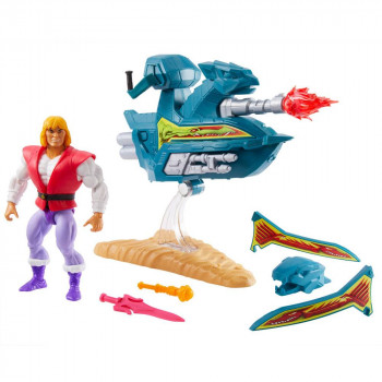 PRINCE ADAM WITH SKY SLED...