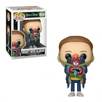 FUNKO POP! 954 MORTY WITH...