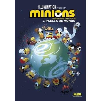 MINIONS 4 PAELLA DE MUNDO