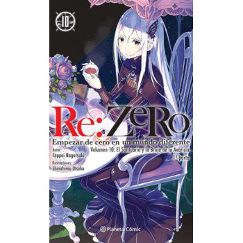RE:ZERO 10 (NOVELA)
