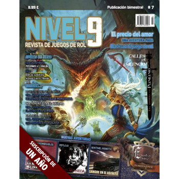 NIVEL 9 REVISTA DE JUEGOS DE ROL Nº7