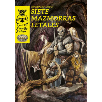 SIETE MAZMORRAS LETALES -...