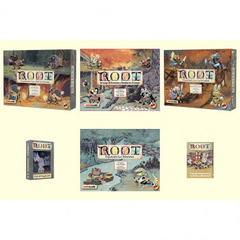PACK ROOT + 5 EXPANSIONES