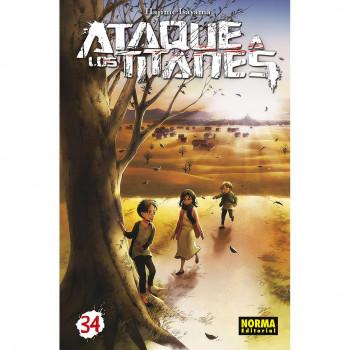 ATAQUE A LOS TITANES 34