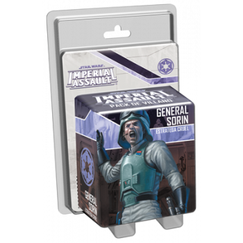 STAR WARS IMPERIAL ASSAULT: GENERAL SORIN - ESTRATEGA CRUEL