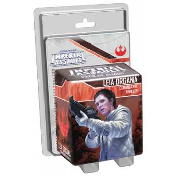 STAR WARS IMPERIAL ASSAULT: PRINCESA LEIA - COMANDANTE REBELDE