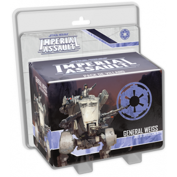 STAR WARS IMPERIAL ASSAULT: GENERAL WEISS - JEFE DE OPERACIONES