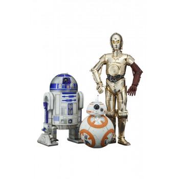 PACK 3 FIGURAS C-3PO &...