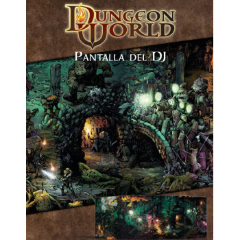 DUNGEON WORLD - PANTALLA DEL DIRECTOR DE JUEGO