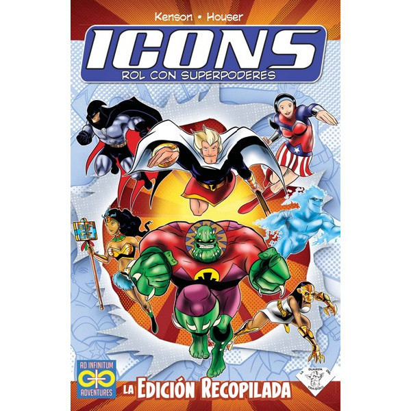 ICONS ROL CON SUPERPODERES LA EDICION RECOPILADA