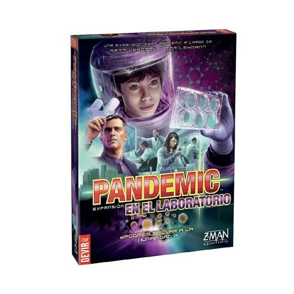 PANDEMIC - EN EL LABORATORIO