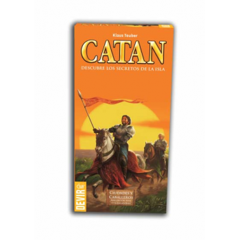 CATAN CIUDADES Y CABALLEROS 5-6