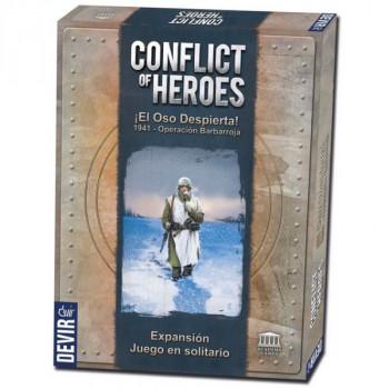 CONFLICT OF HEROES: EL OSO DESPIERTA 1941 - OPERACION BARBARROJA. EXPANSION SOLITARIO