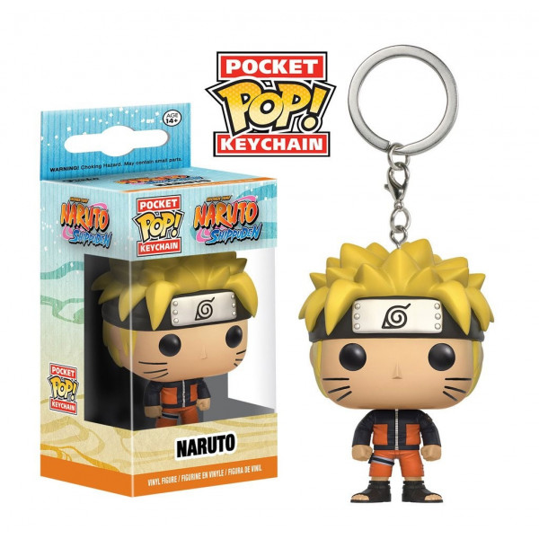 POCKET POP! LLAVERO NARUTO SHIPPUDEN