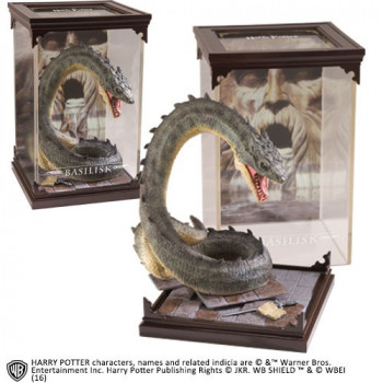 ESTATUA BASILISK MAGICAL CREATURES. HARRY POTTER