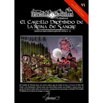 AVENTURAS EN LA MARCA DEL ESTE CLASICOS - EL CASTILLO PROHIBIDO DE LA REINA DE SANGRE