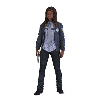 FIGURA POLICIA MICHONNE SERIE 9. THE WALKING DEAD TV