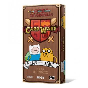 CARD WARS FINN CONTRA JAKE...