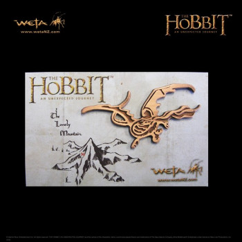 PIN SMAUG DRAGON. THE HOBBIT