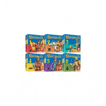 CARCASSONNE PACK 6 MINI EXPANSIONES