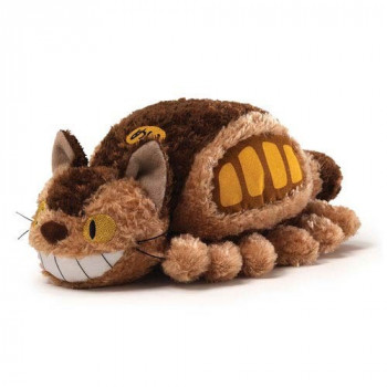 PELUCHE LITTLE FLUFFY CAT BUS MI VECINO TOTORO. STUDIO GHIBLI