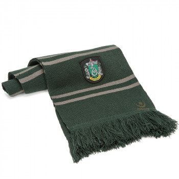 BUFANDA SLYTHERIN. HARRY POTTER