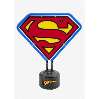 LAMPARA NEON LOGO SUPERMAN...