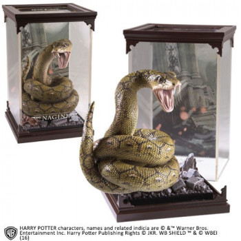 ESTATUA MAGICAL CREATURES NAGINI. HARRY POTTER