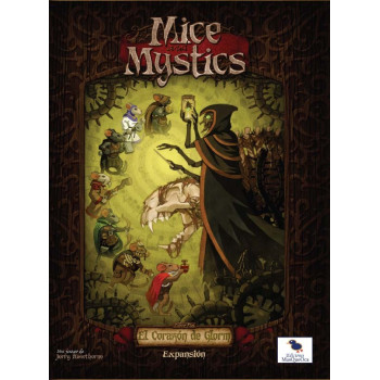 MICE AND MYSTICS (DE RATONES Y MAGIA) EXPANSION - EL CORAZON DEL GLORM