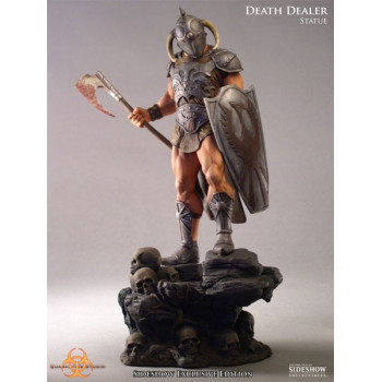 ESTATUA DEATH DEALER FRAZETTA QUARANTINE STUDIO 35cm