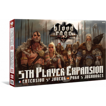 BLOOD RAGE. EXPANSION PARA 5 JUGADORES