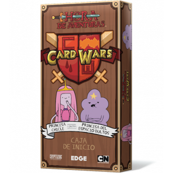 CARD WARS PRINCESA CHICLE...